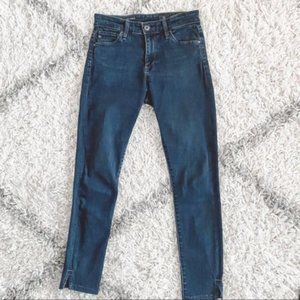 Adriano Goldschmied Farrah Size 24R Cropped Jeans